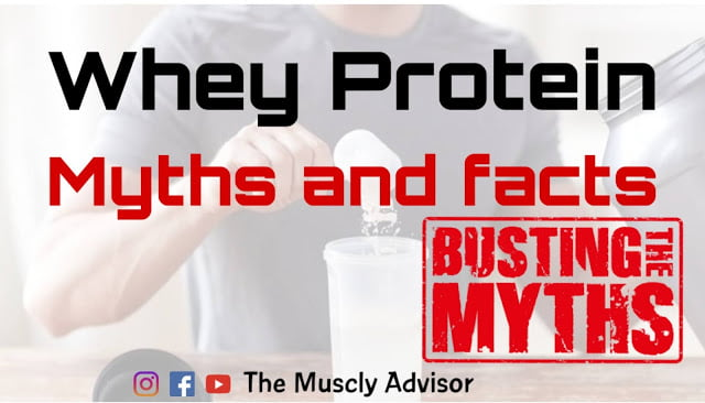 5 whey protein myths and facts.