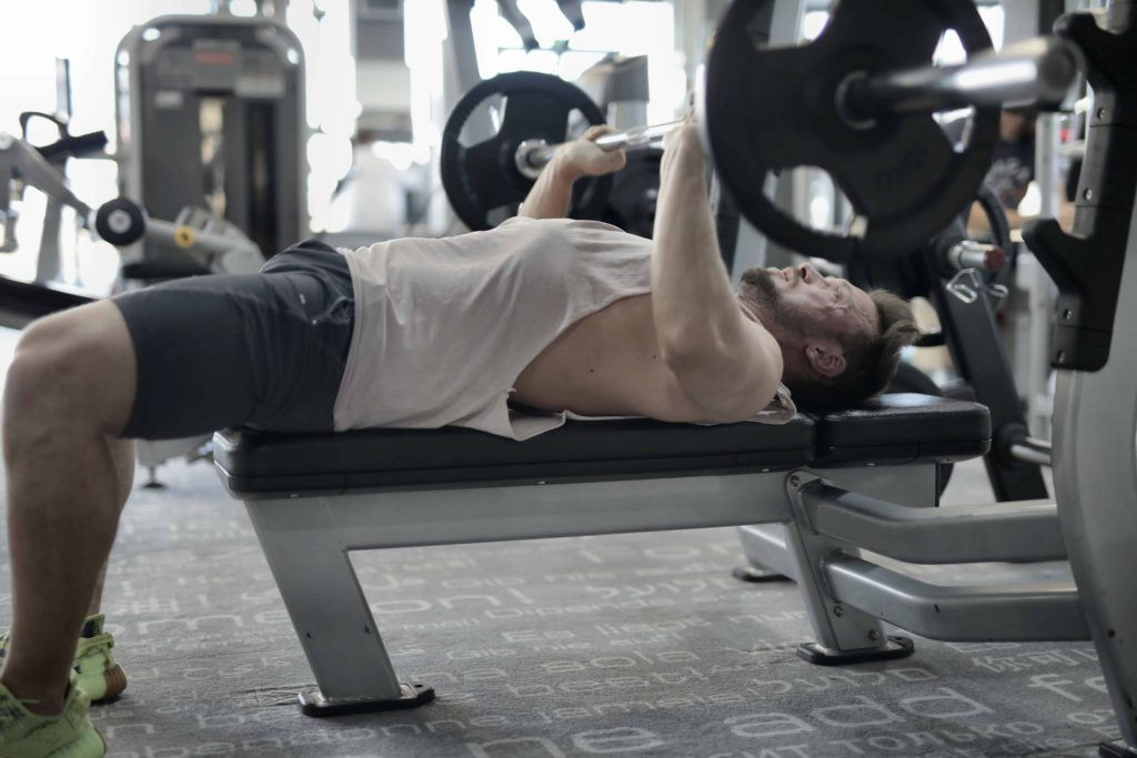 bench press - workouts to gain weight